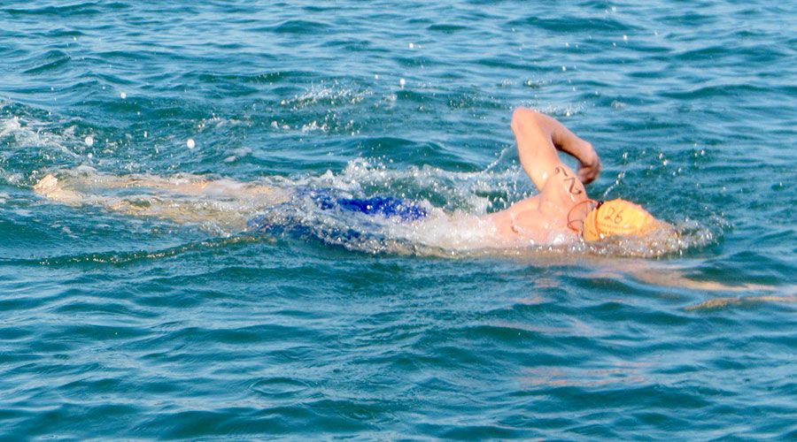 Open water swimming insurance