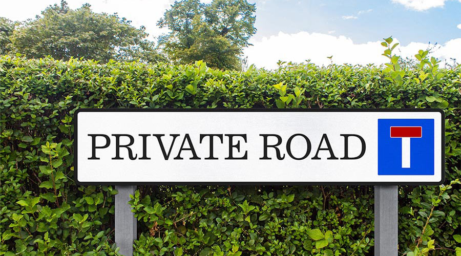 Private road and driveway insurance